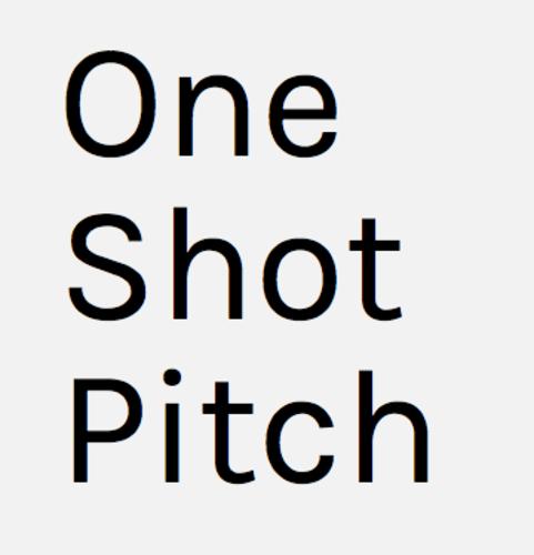 OneShotPitch Founder Kris Oliver