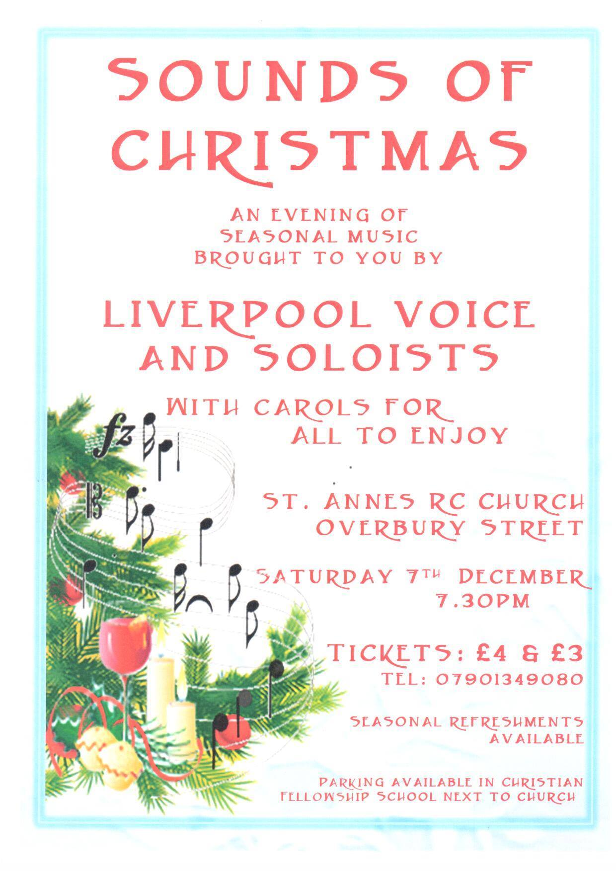 Sounds of Christmas poster by Corinne