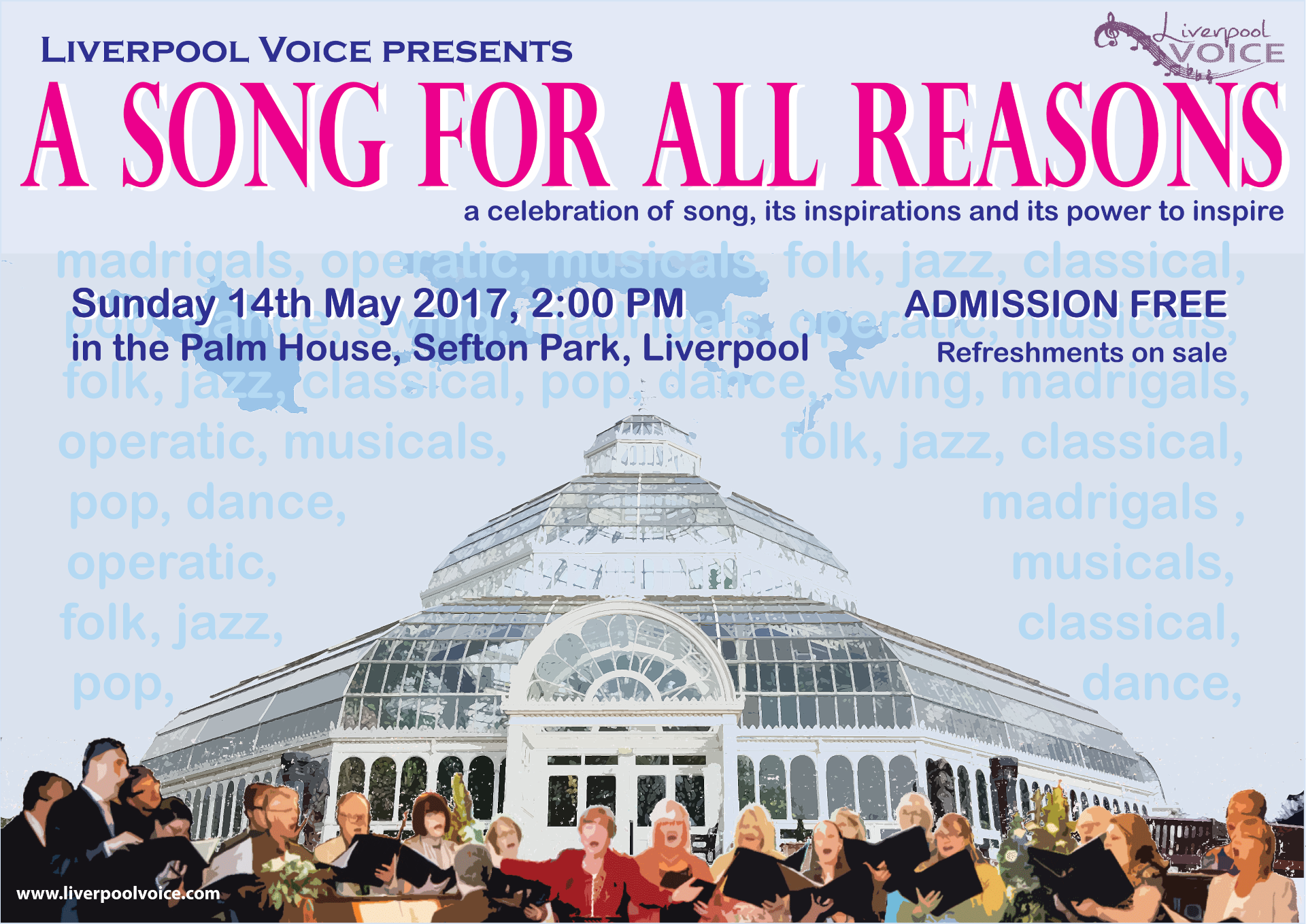 A Song For All Reasons poster by Chris Williams
