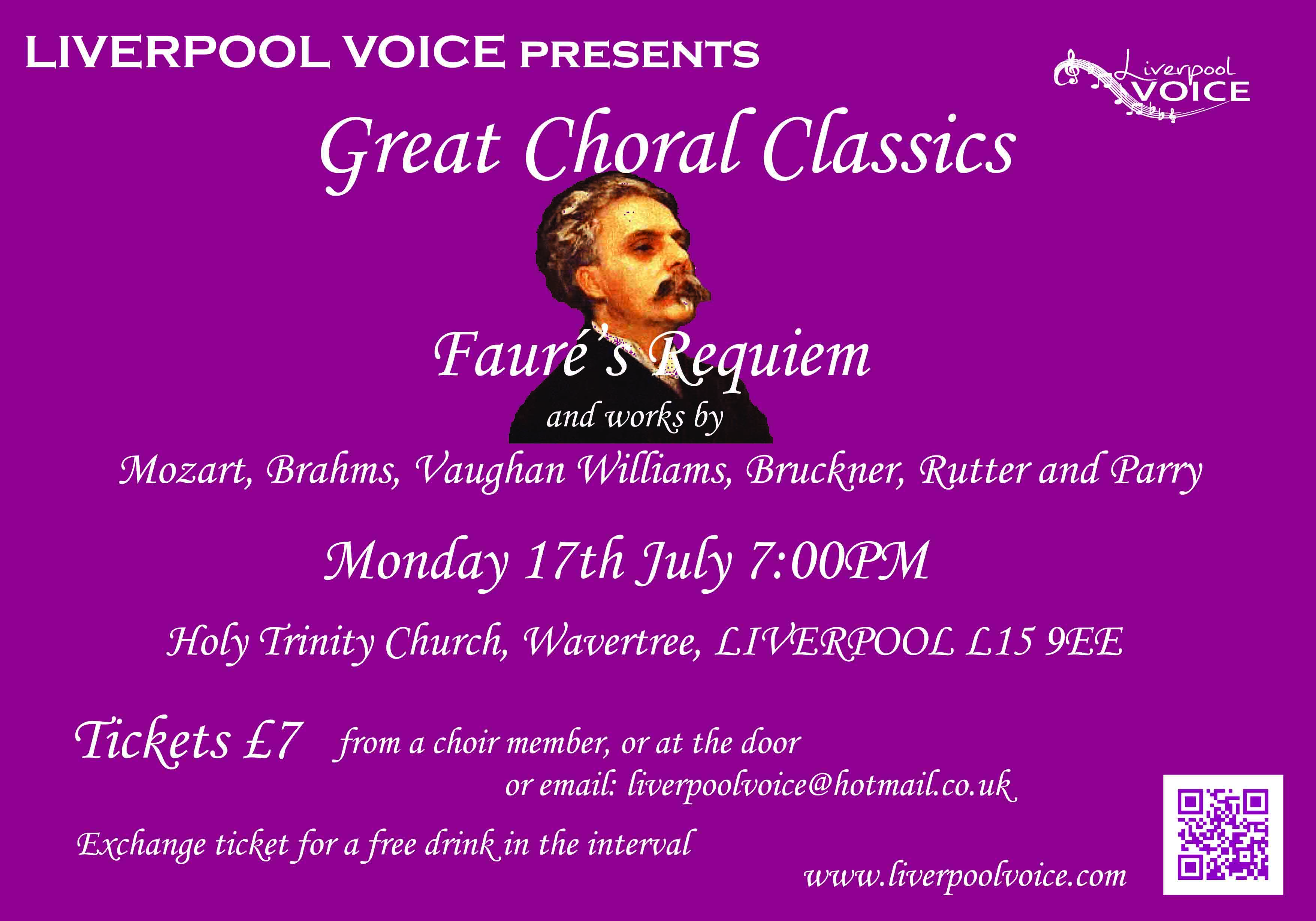 Great Choral Classics poster by Chris Williams