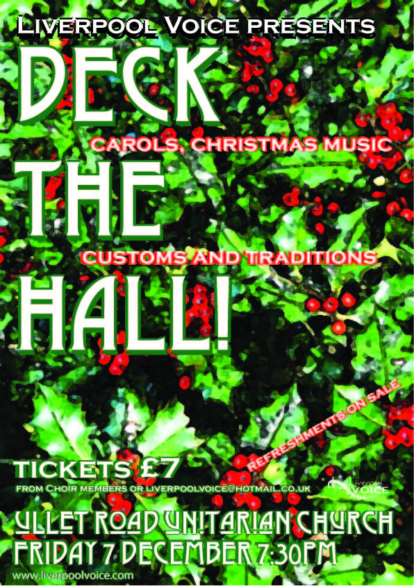 Deck The Hall poster by Chris Williams