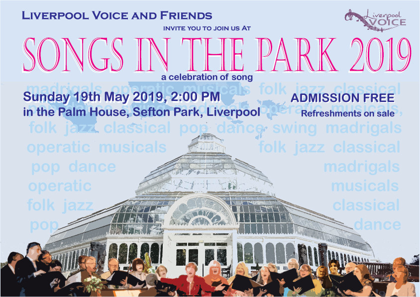 Songs in the Park poster by Chris Williams