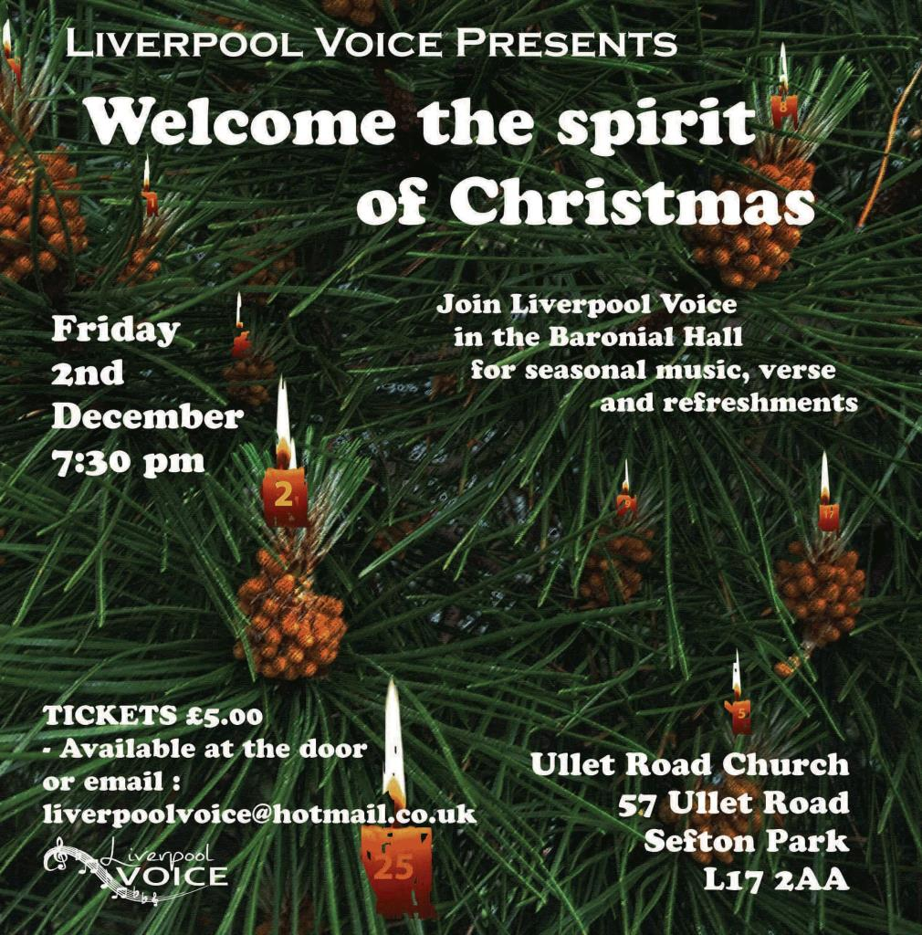 Welcome the Spirit of Christmas poster by Chris Williams