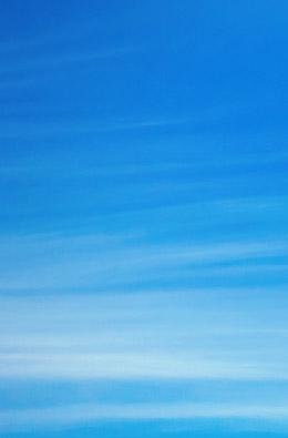Schäfchenwolkenhimmel und Unter dem Limonenhimmel
