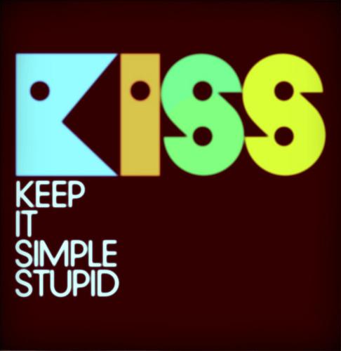 Иллюстрация к статье: Все гениальное просто! Принцип KISS для целевых страниц