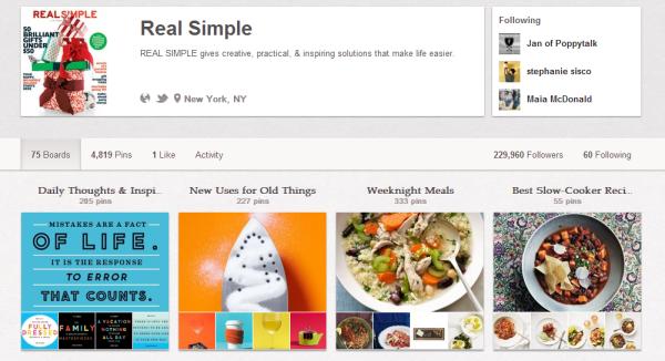 Real Simple на Pinterest