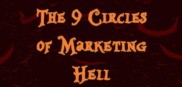 Иллюстрация ко статье: 0 кругов ада вслед маркетинговые ошибки