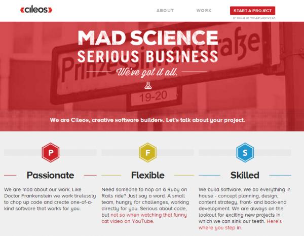 погоня за модой в веб-дизайне – это не всегда хорошо, страницы в стиле Watermark
