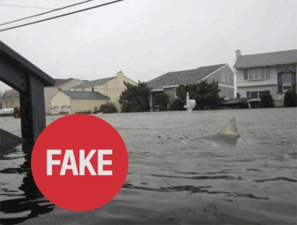 «7 фотографий-подделок урагана Sandy»