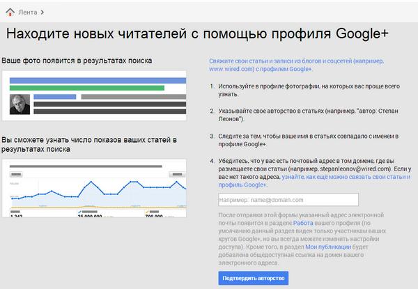 Иллюстрация к статье: Как Google Authorship уменьшил трафик на 90%