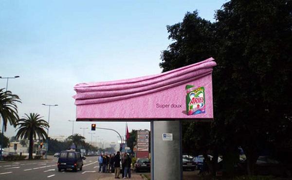 Иллюстрация к статье: Уникальная коллекция креативных билбордов