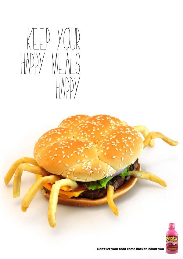реклама здоровой еды