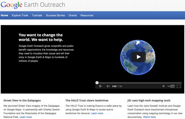 Google Earth Outreach