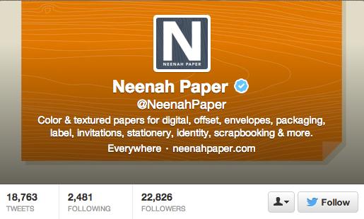 9. Neenah Paper