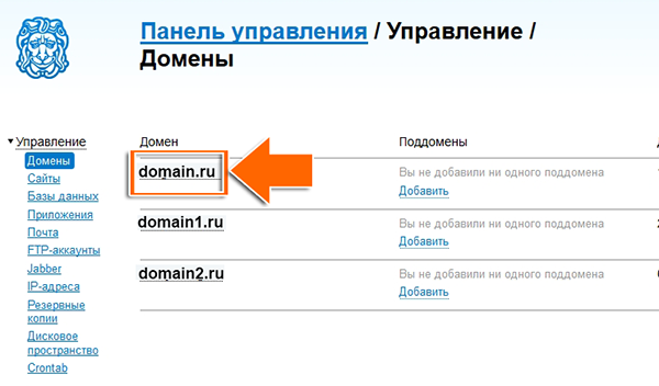 Иллюстрация к статье: Привязка домена и поддомена в панели peterhost.ru