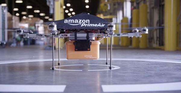 Иллюстрация к статье: Будущее интернет-маркетинга — дроны Amazon