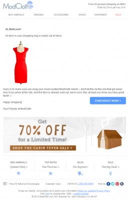 Интернет-магазин одежды Modclotch