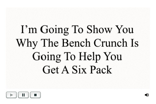 Six Pack Ab Exercises