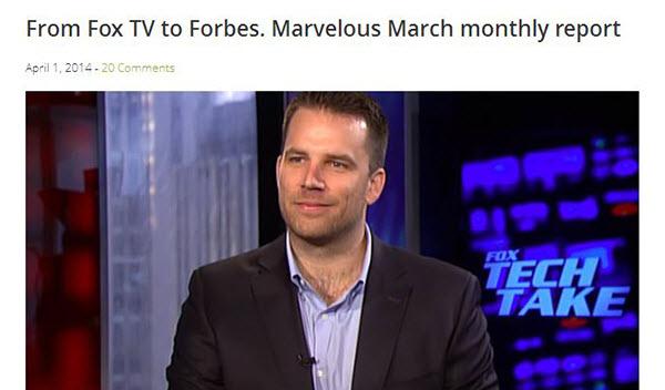 Fox TV и Forbes