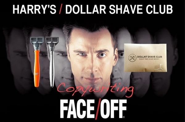 Иллюстрация к статье: Битва посадочных страниц: Harry's против Dollar Shave Club