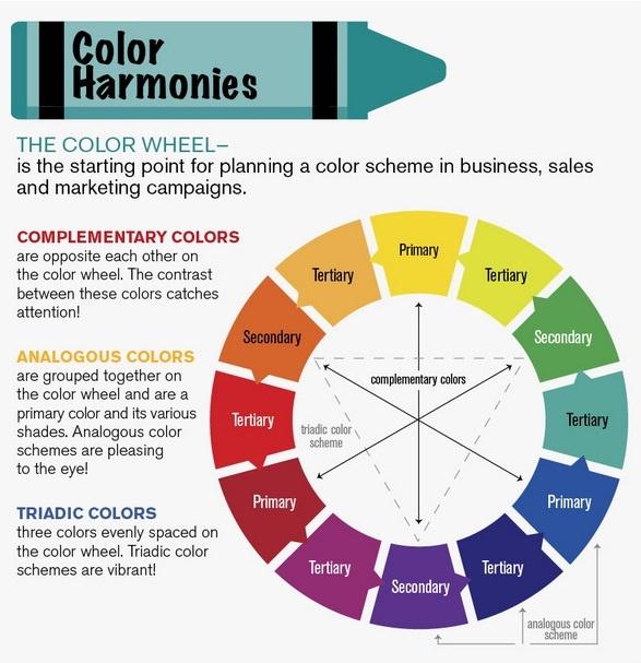 разработке цветовой схемы