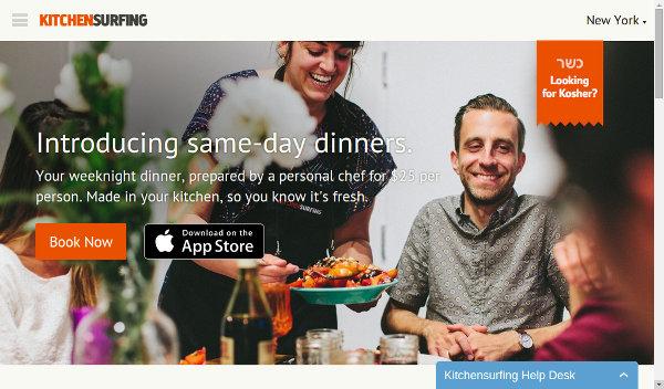 Иллюстрация к статье: Стартап Kitchensurfing: профессиональный шеф-повар на вашей кухне