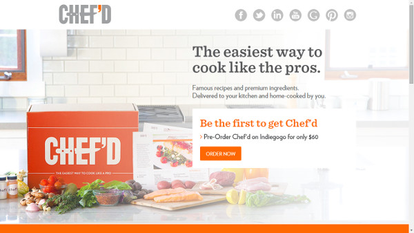Иллюстрация к статье: Стартап Chef'd: станьте шеф-поваром на собственной кухне