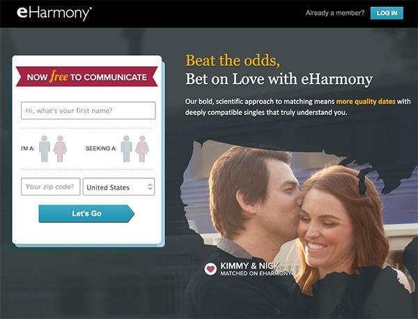 Сайт знакомств eHarmony