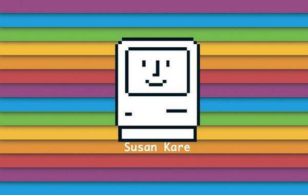 Иллюстрация к статье: Женщина, подарившая компьютеру Macintosh улыбку