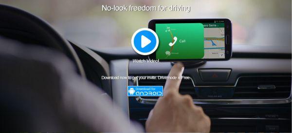 Иллюстрация к статье: Стартап Drivemode: безопасное использование смартфона за рулем