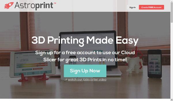 Иллюстрация к статье: Стартап AstroPrint: управление 3D-печатью с любого устройства