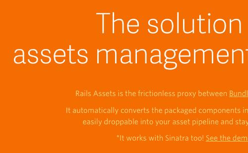 Rails Assets