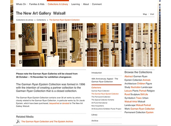 THE NEW ART GALLERY WALSALL