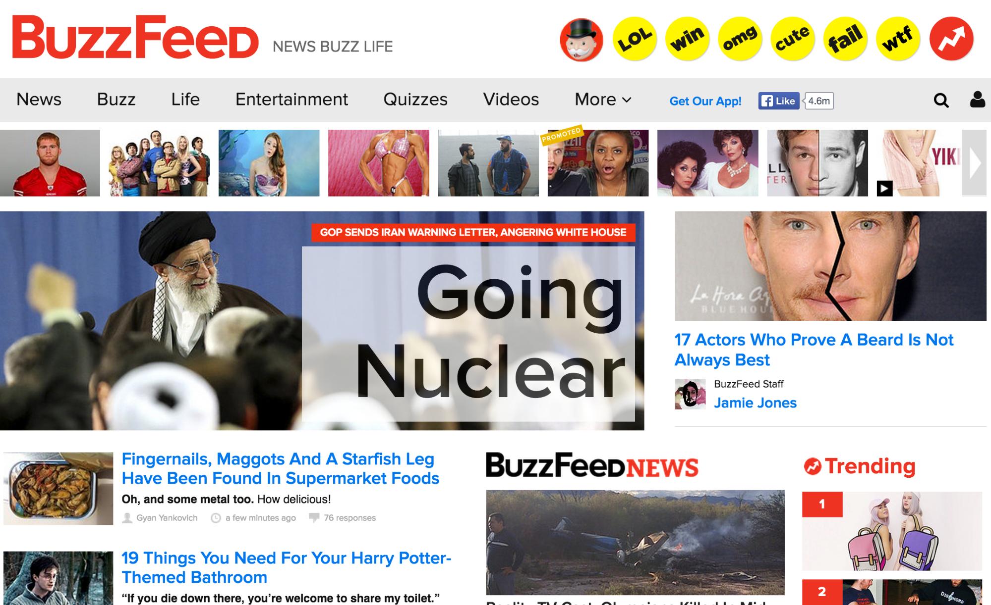 Иллюстрация к статье: Секрет «взрывной» популярности BuzzFeed