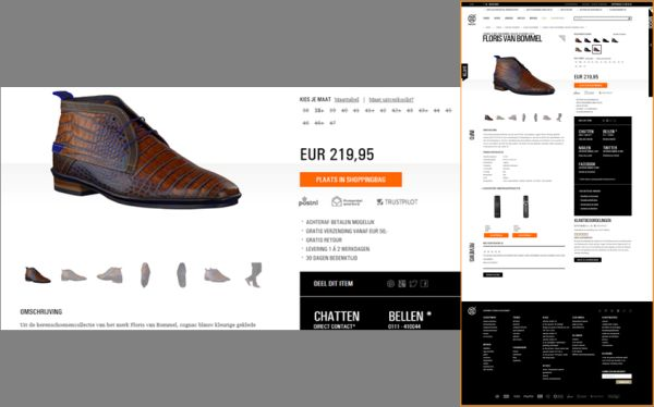 Иллюстрация к статье: Сплит-тест: текст Vs иконки на товарном лендинге интернет-магазина