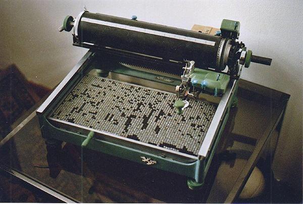 Иллюстрация к статье: Как китайские печатные машинки предвосхитили технологию Т9