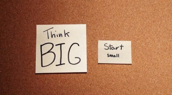 Делайте маленькие шаги