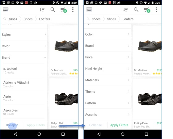 Zappos для Android