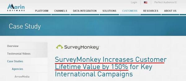 SurveyMonkey увеличивает CLV на 150%