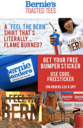 Bernie's Toasted Tees