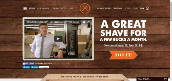 4. Dollar Shave Club