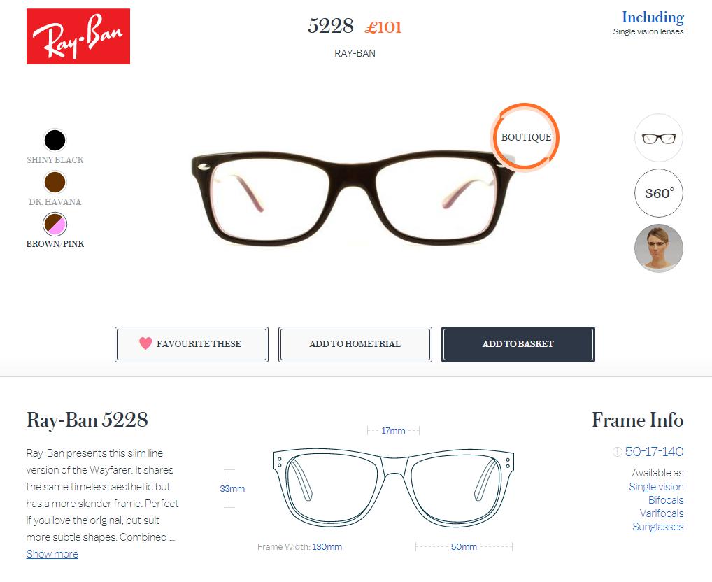 7. Glasses Direct