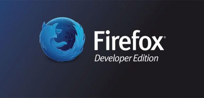 Mozilla представляет новый Firefox Developer Edition