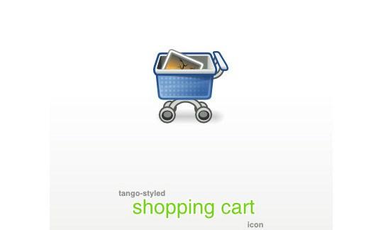 Tango-styled Shopping cart