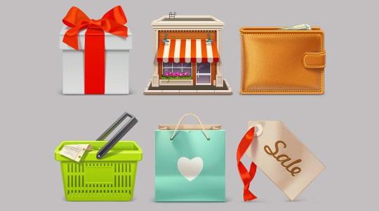 Free eCommerce Icon Set