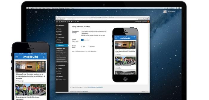 Иллюстрация к статье: Как легко преобразовать сайт WordPress в мобильное приложение