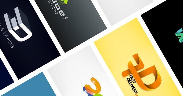 Иллюстрация к статье: Креативные 3D эффекты в дизайне логотипов