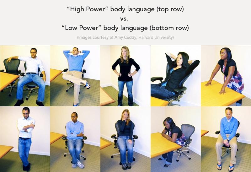 high power poses