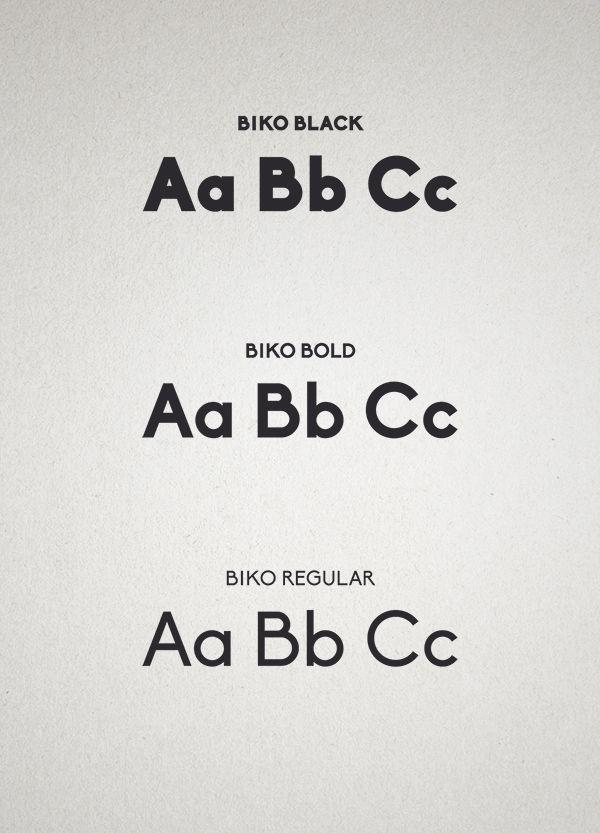 Семья шрифтов Biko