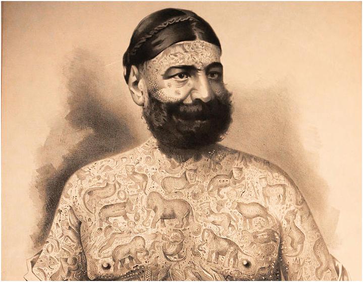 Капитан Костентенус: «Татуированный Человек»